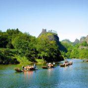 À la découverte de Wuyishan lors d'un voyage en Chine
